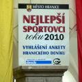 Vyhlášení sportovce roku 2010