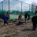 Jarní příprava areálu na sezónu